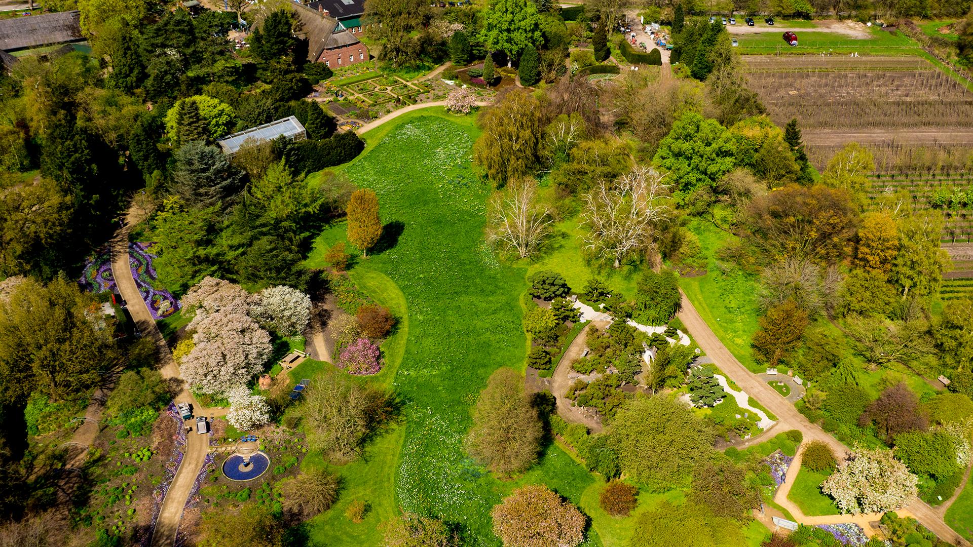 Das Arboretum in Ellerhoop