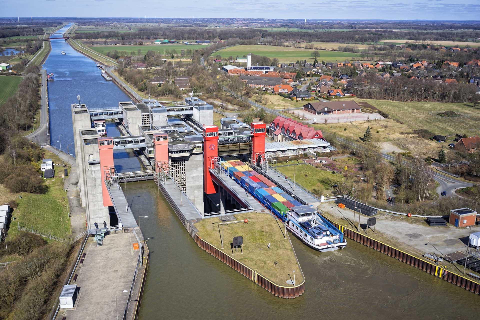 Schiffshebewerk Lüneburg in Scharnebeck