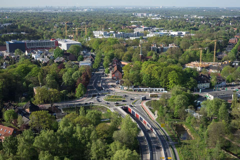 Kreisverkehr am Ochsenzoll
