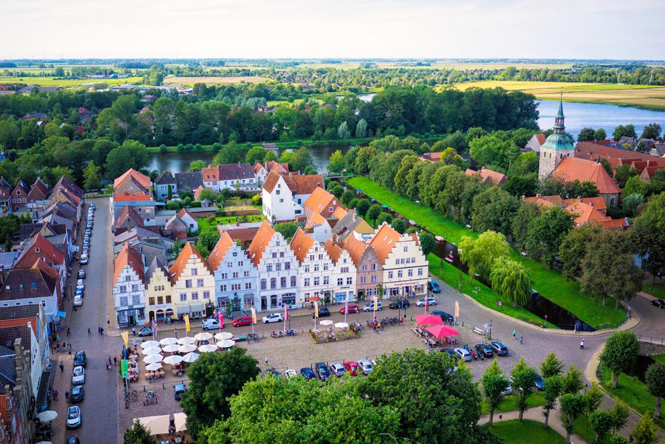 Friedrichstadt, das Holländerstädtchen