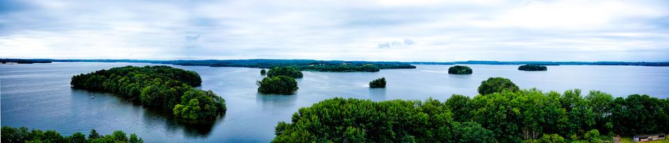 Inseln im Plöner See