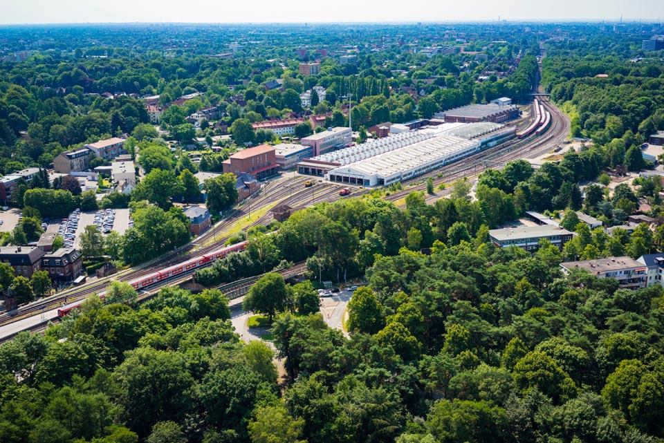 S-Bahn Werk Ohlsdorf